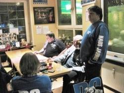 Tisch der DC City Pub United